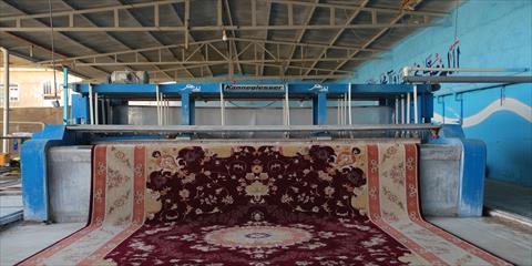 شستشوی فرش ماشینی و دستبافت در قالیشویی چهلستون